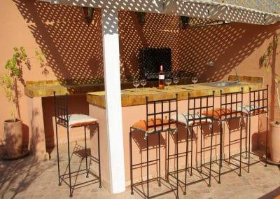 Bar on terrasse